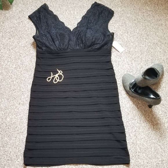 e60638609d NWT Sexy and Sleek Little Black Dress!!💄💍👛. NWT. dressbarn